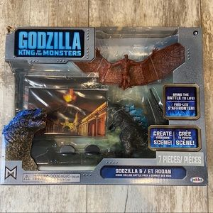 Godzilla King Of The Monsters Play Set